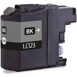 TINTA GENÉRICA BROTHER LC123BK NEGRO