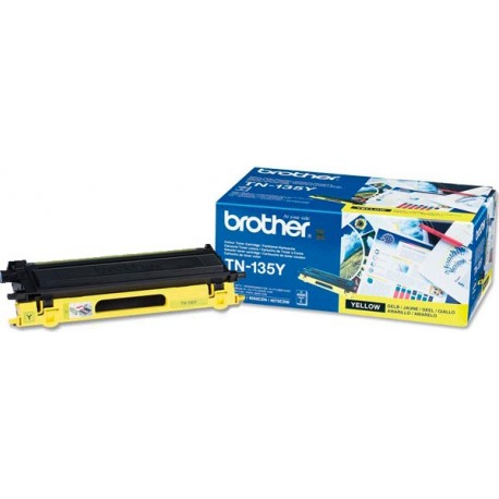 TONER ORIGINAL BROTHER TN135Y