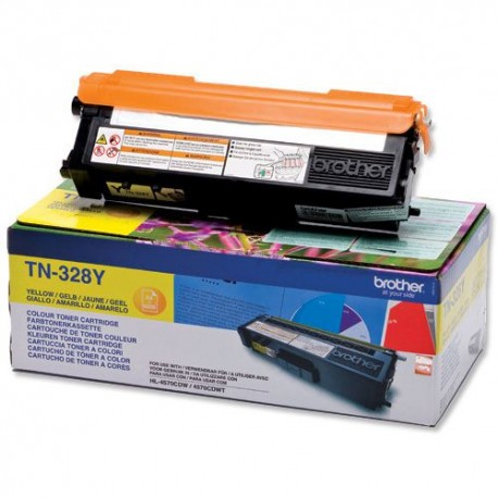 TONER ORIGINAL BROTHER TN328Y