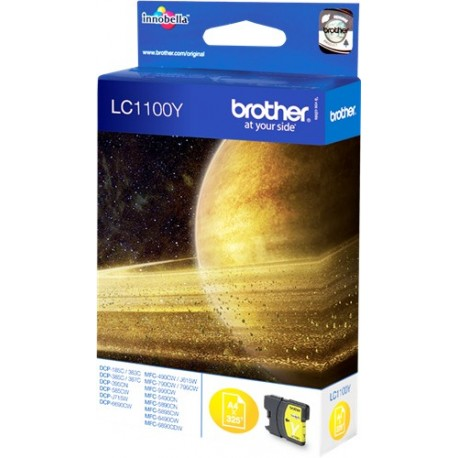 TINTA ORIGINAL BROTHER LC1100Y