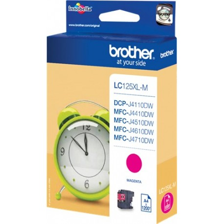 TINTA ORIGINAL BROTHER LC125XLM