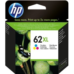 TINTA COLOR HP 62XL - C2P07AE