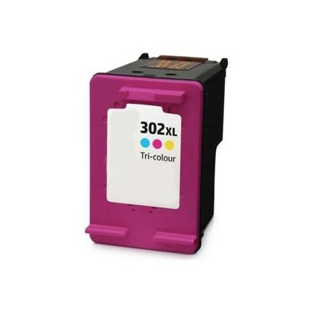 TINTA GENÉRICA HP F6U67AE - HP 302 XL COLOR