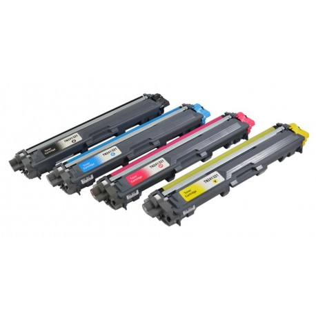 PACK TONER GENÉRICO BROTHER TN245 - 4 COLORES