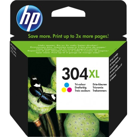 TINTA COLOR HP 304 XL- N9K07AE