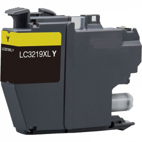 TINTA GENÉRICA BROTHER LC3219Y AMARILLO