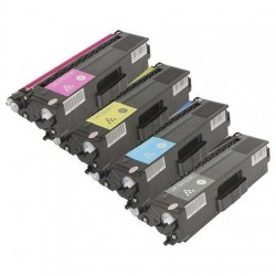 PACK TONER GENÉRICO BROTHER TN326 - 4 COLORES