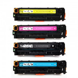 PACK TONER GENÉRICO HP 125A - 4 COLORES