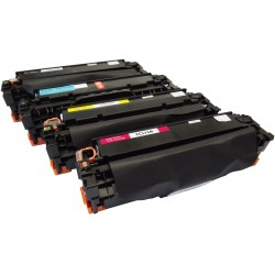 PACK TONER GENÉRICO HP 304A - 4 COLORES