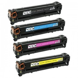 PACK TONER GENÉRICO HP 312A - 4 COLORES