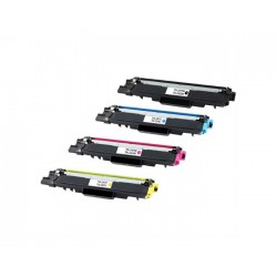 PACK TONER COMPATIBLE BROTHER TN247 / TN243 - 4 COLORES
