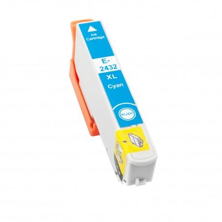 TINTA COMPATIBLE EPSON T2432 (24XL) CIAN