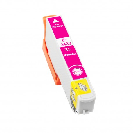 TINTA COMPATIBLE EPSON T2433 (24XL) MAGENTA
