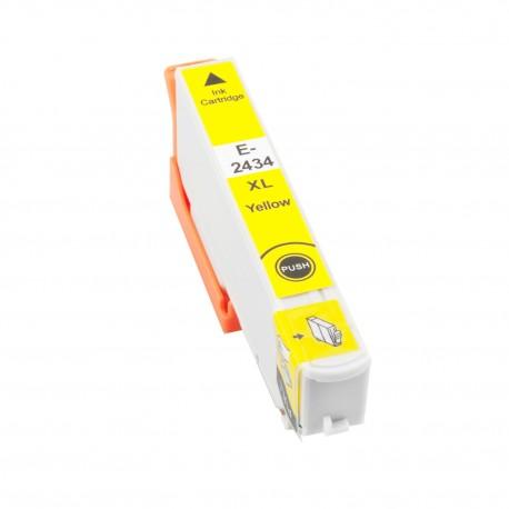 TINTA COMPATIBLE EPSON T2434 (24XL) AMARILLO