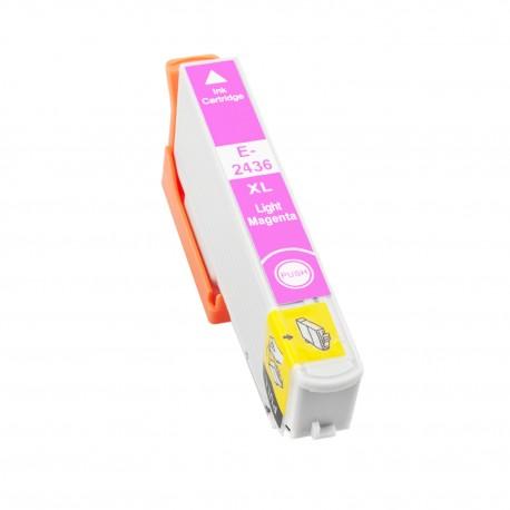 TINTA COMPATIBLE EPSON T2435 (24XL) CIAN CLARO