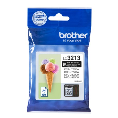TINTA ORIGINAL BROTHER LC3213BK