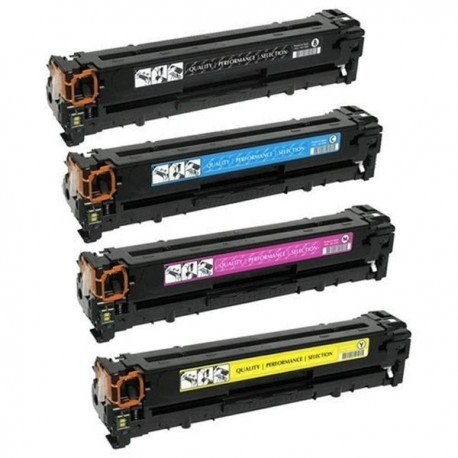 PACK TONER COMPATIBLE HP 203X - 4 COLORES