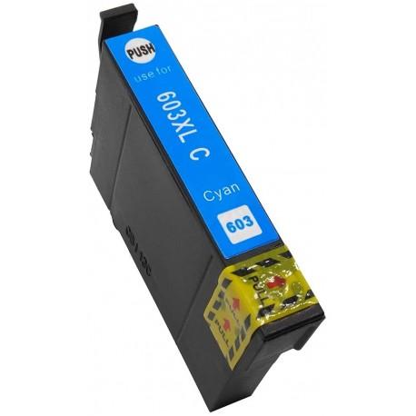 TINTA COMPATIBLE EPSON T03A2 - 603XL CIAN