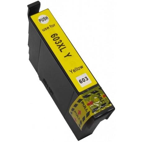 TINTA COMPATIBLE EPSON T03A4 - 603XL AMARILLO